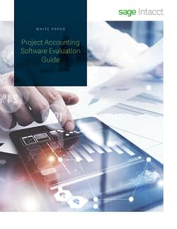 SAGE INTACCT PROJECT ACCOUNTING GUIDE
